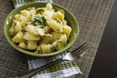 Potatoes salad Royalty Free Stock Photography