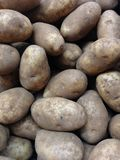 Potatoes for Sale. Stock Image