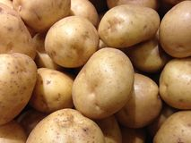Potatoes for Sale. Royalty Free Stock Image