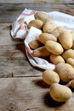 Potatoes selection extract from organic agriculture Stock Photography