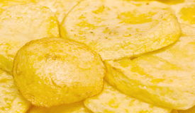 Potatoes slices Royalty Free Stock Photography