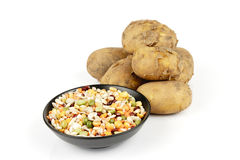 Potatoes and Soup Pulses Royalty Free Stock Photo