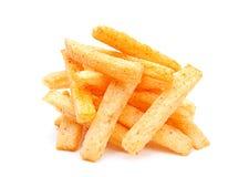 Potatoes stick snack Stock Image