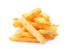 Potatoes stick snack Royalty Free Stock Image