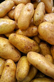 Potatoes in supermarket Stock Photo