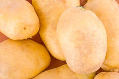 potatoes tubers  from the market on background healthy potato Vegetable food isolated Royalty Free Stock Photography
