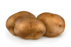 Potatoes, vector illustration Stock Images