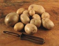 Potatoes, vintage setting Royalty Free Stock Photography