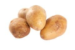 Potatoes on white background Royalty Free Stock Image