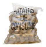 Potatoes on white background Stock Image