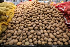 Potatos świeży bulck Obrazy Royalty Free