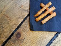 Potatos помадки еды улицы Стоковое фото RF