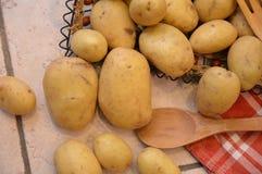 Potatos agricolture warzywa Obrazy Royalty Free