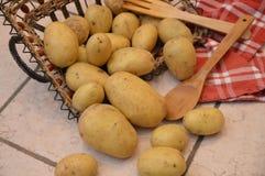 Potatos agricolture warzywa Obrazy Stock
