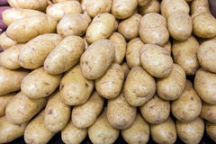 Potatos in food store Royalty Free Stock Photo