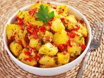 Potatos salad Royalty Free Stock Photo