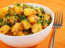 Potatos salad Royalty Free Stock Photos