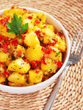Potatos with sesame Royalty Free Stock Photos