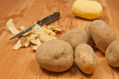 Potatos Royalty Free Stock Photo