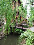 ancient city in Lijiang, Yunnan province Stock Photos