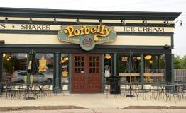 Potbelly sklep Obrazy Royalty Free
