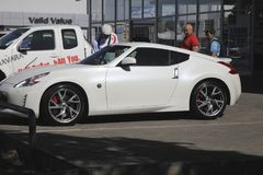 Potchefstroom Auto salão de beleza Fotografia de Stock Royalty Free