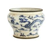 Pote de cerámica Imagenes de archivo