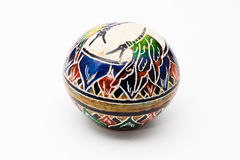 Pote de cerámica Imágenes de archivo libres de regalías