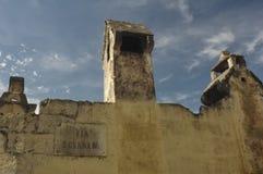 Pote de chimenea en Italia meridional Imágenes de archivo libres de regalías