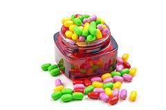 Pote del caramelo Fotos de archivo
