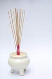 Pote del palillo de ídolo chino Fotos de archivo libres de regalías