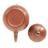 Pote del té de la arcilla de Yixing del chino Imagen de archivo libre de regalías