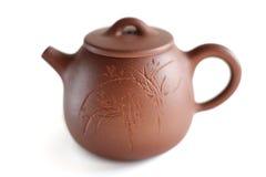 Pote del té de la arcilla de Yixing del chino Foto de archivo libre de regalías