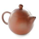 Pote del té de la arcilla de Yixing del chino Fotos de archivo