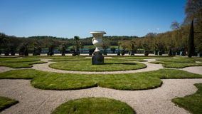 Pote en los jardines de Versalles Fotos de archivo