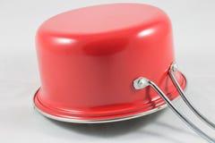 Pote rojo Imágenes de archivo libres de regalías