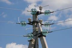 Poteau électrique Image libre de droits