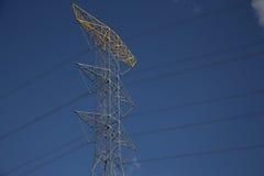 Poteau électrique Photographie stock