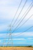 Poteau électrique Images stock