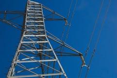 Poteau électrique Photographie stock libre de droits