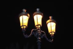 Poteau classique de lampe Photo libre de droits