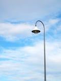 Poteau d'éclairage public extérieur Image stock