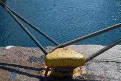 Poteau d'amarrage Photo libre de droits