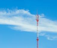 Poteau d'antenne de GM/M Photographie stock libre de droits