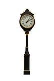 Poteau d'horloge images stock
