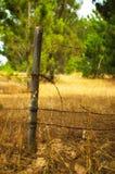 Poteau de barrière Photographie stock