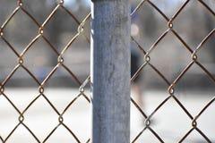 Poteau de barri?re images libres de droits