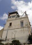 Poteau de dispositif protecteur de Libanais au cadre Photos stock