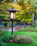 Poteau de lampe Image stock