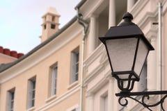 Poteau de lampe photo stock